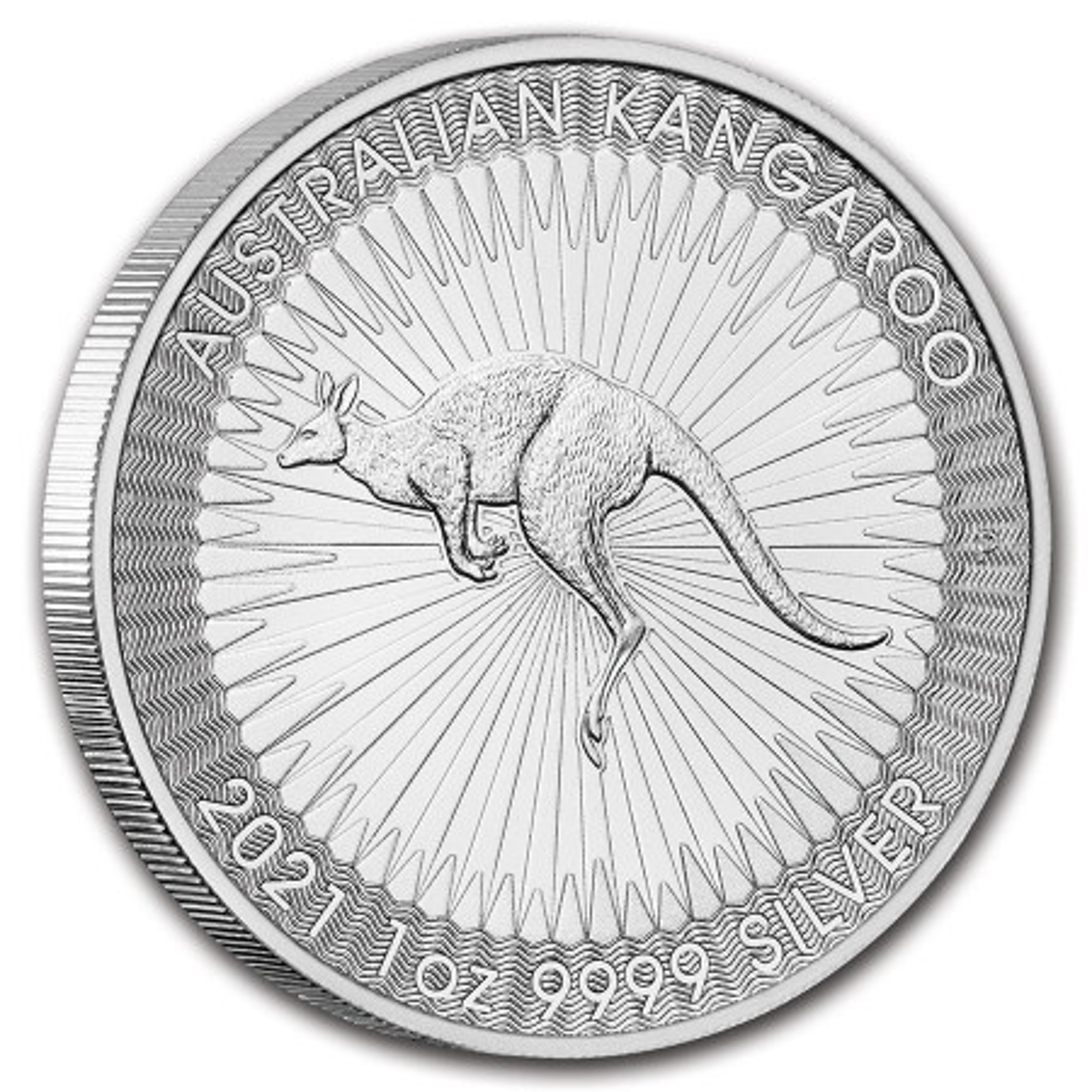 1 troy ounce zilveren Kangaroo munt  2021