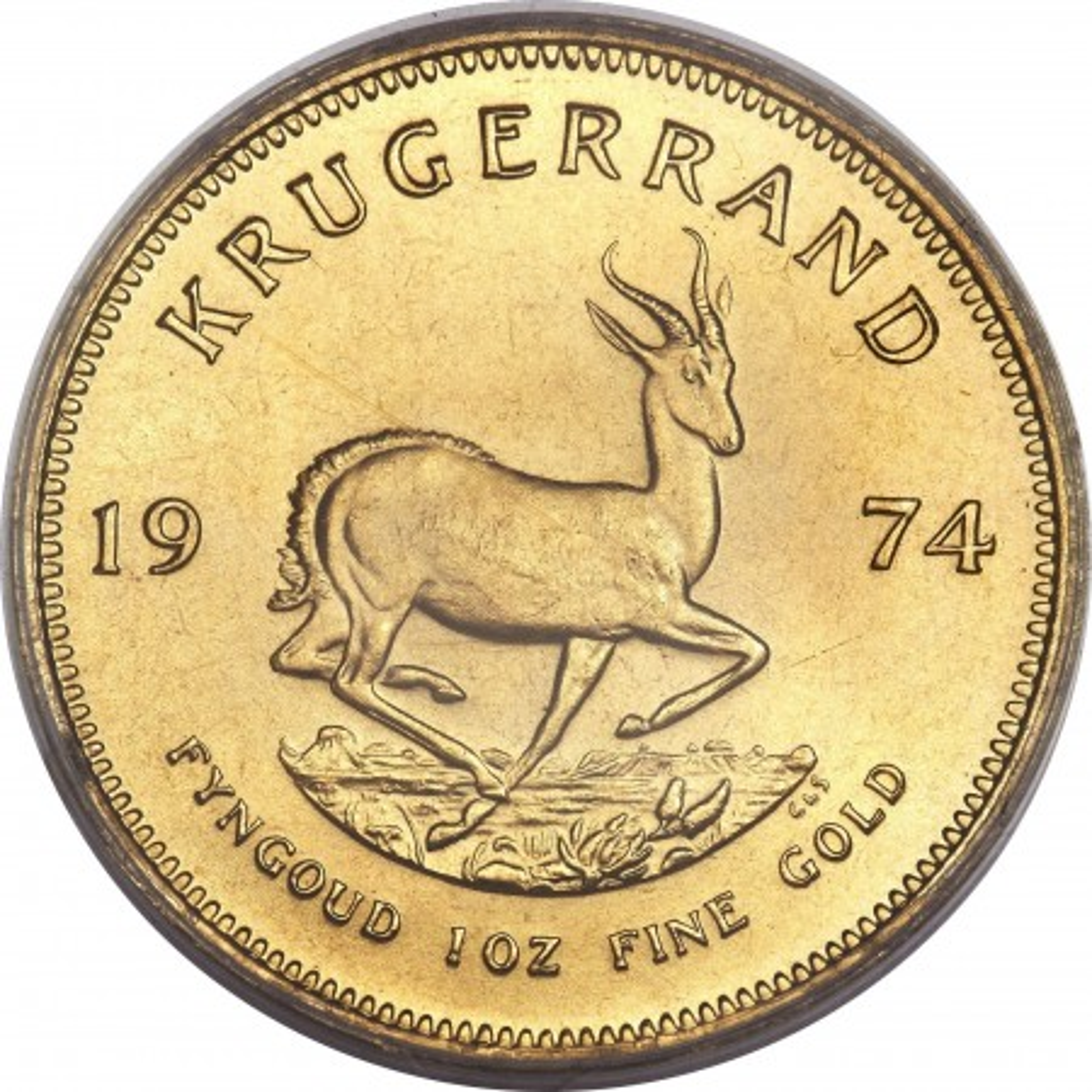 Krugerrand Goud (diverse jaartallen)
