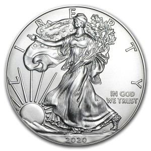 Silver Eagle munt 2020- 1 troy ounce