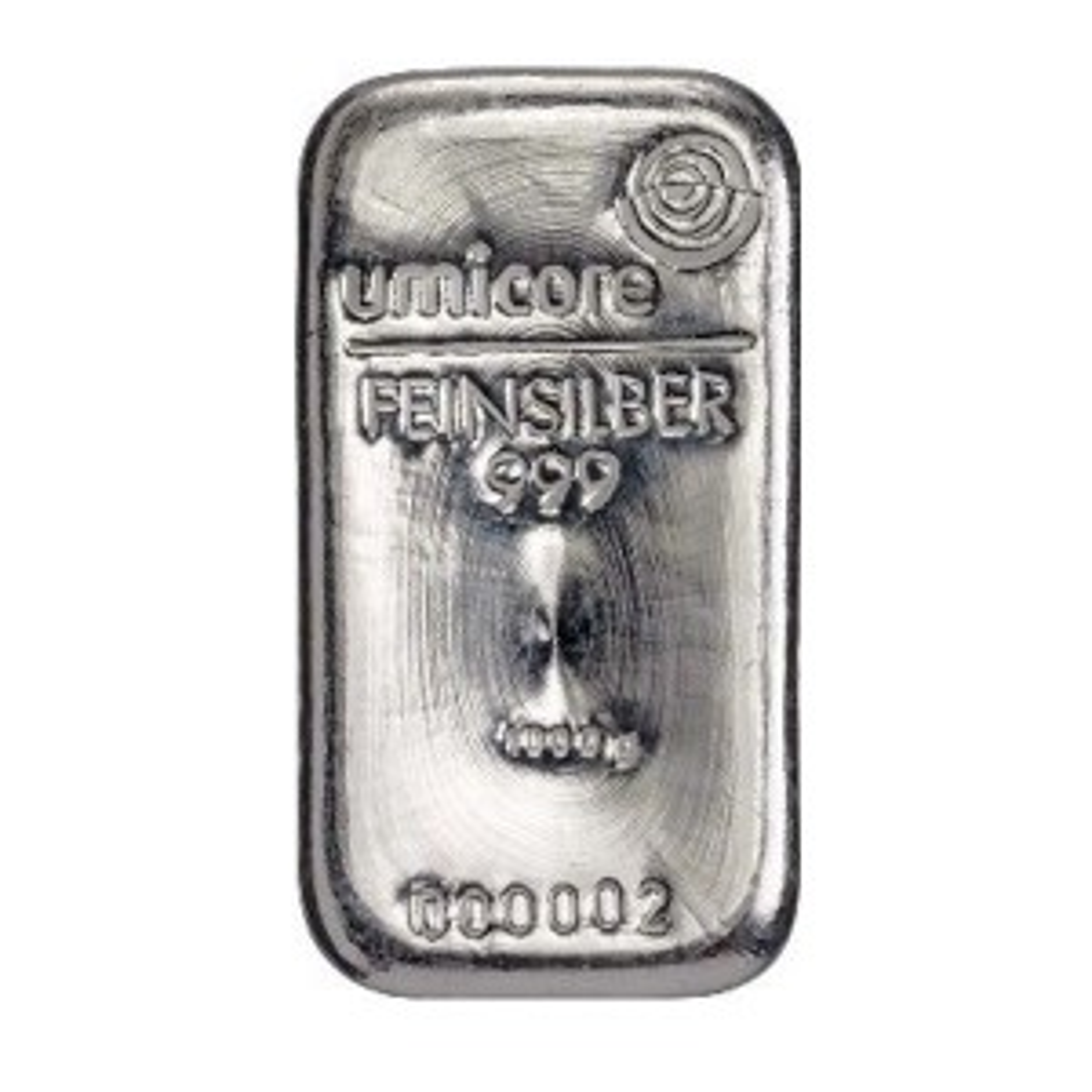 Zilverbaar 1000 gram