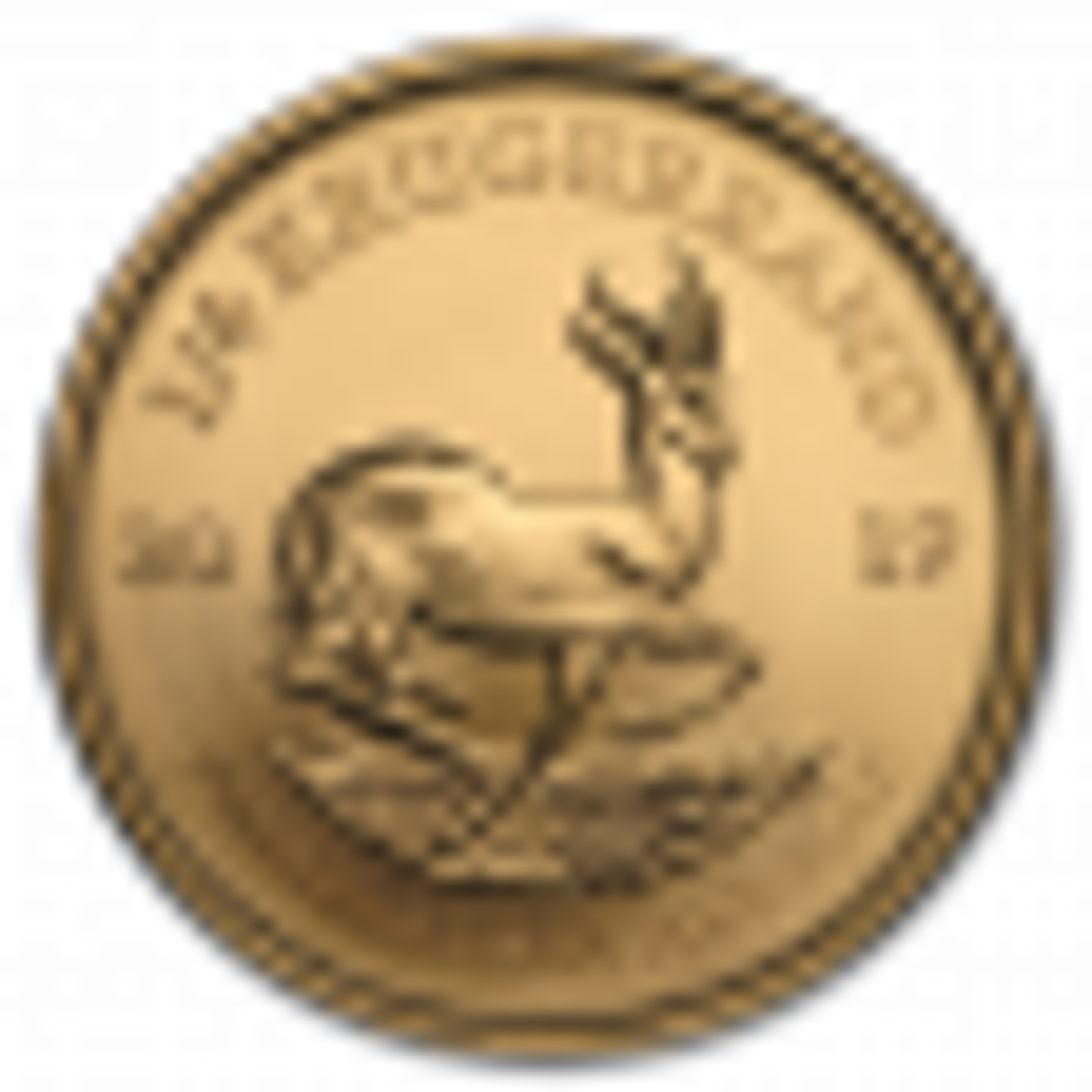 1/4 Troy ounce gouden Krugerrand munt 2019