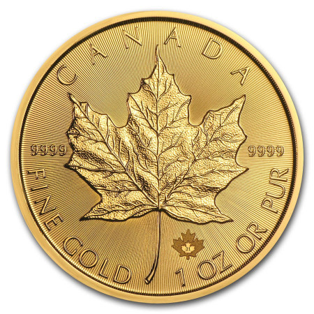 Maple Leaf gold 1 troy ounce 2021