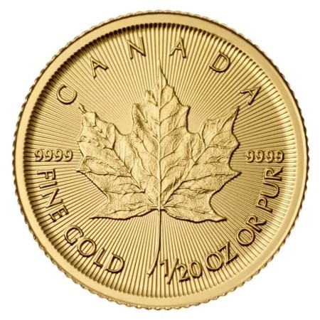 Maple Leaf Gold 1 20 Troy Ounce 2019