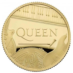 1 troy ounce gold coin Queen 2020