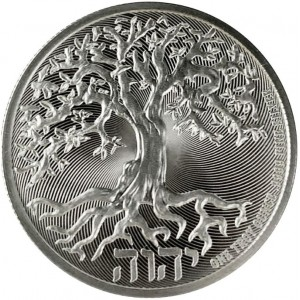1 troy ounce zilveren munt Tree of Life 2020