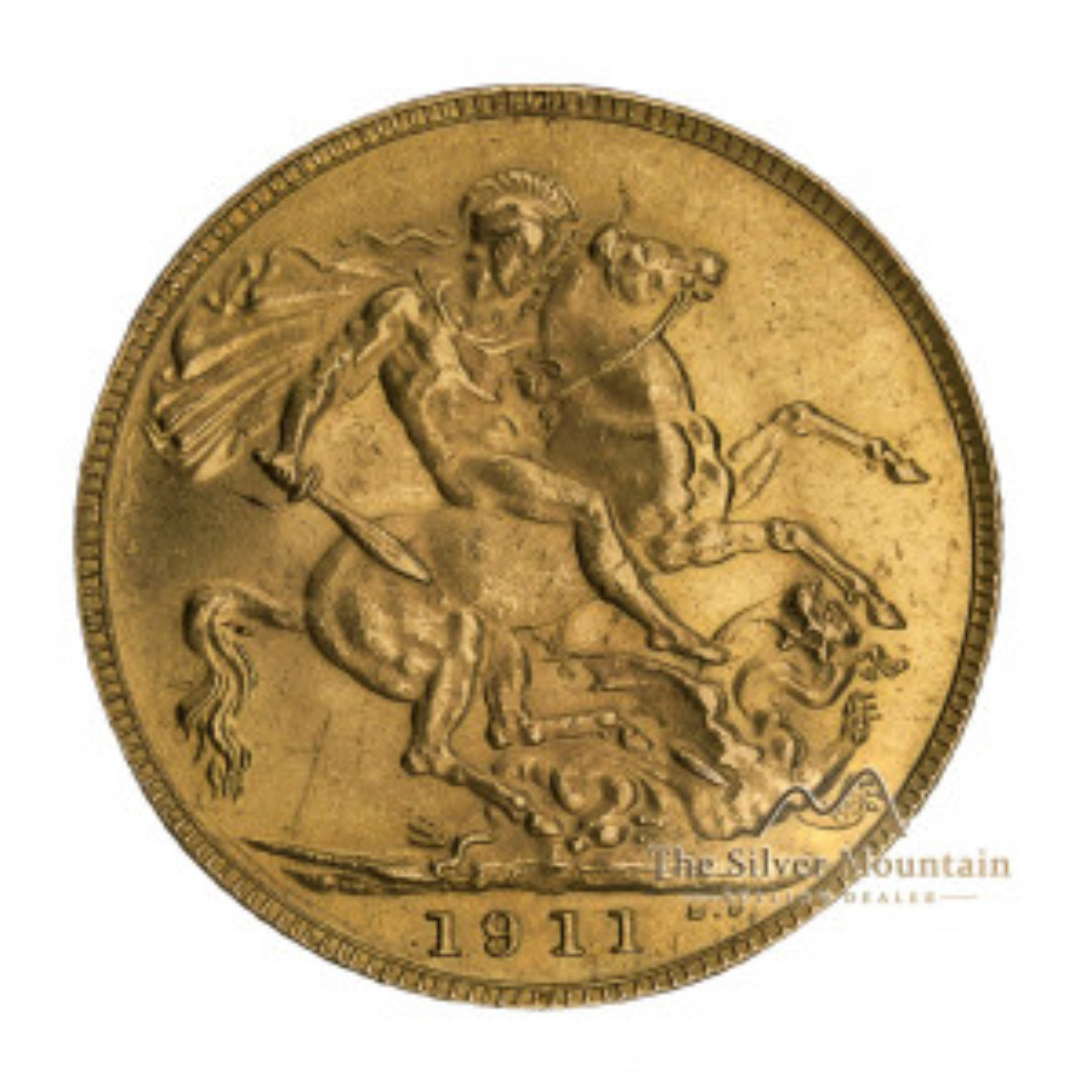 Gouden souvereign munt
