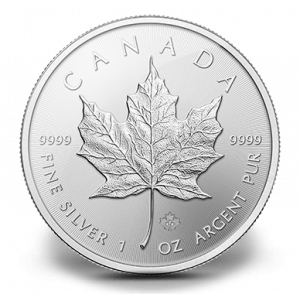 Maple Leaf Silver