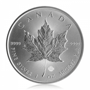 Maple Leaf Silver (circulated)
