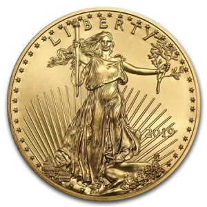 1/10 oz American Eagle gold